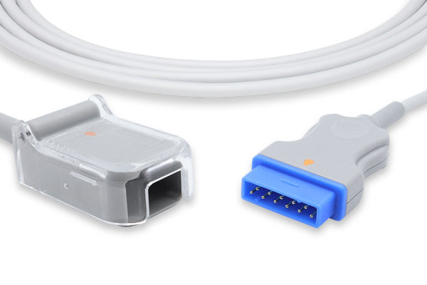 GE Healthcare > Marquette Compatible SpO2 Adapter Cable