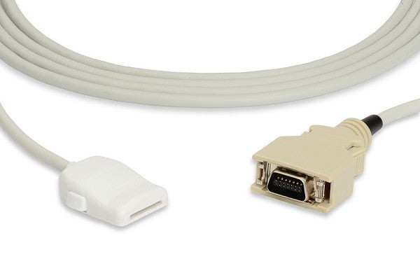 01-02-0182 CAS Med Compatible SpO2 Adapter Cable