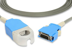 Nihon Kohden Compatible SpO2 Adapter Cable- JL-302Tthumb