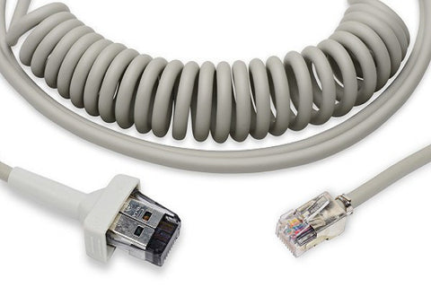 GE® AM4, AM5 700044-205 Coiled Patient Cable 15 ft. (4.6M)