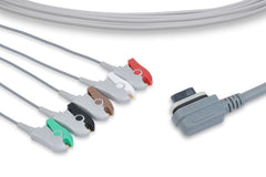 GE Healthcare Compatible ECG Telemetry Leadwirethumb