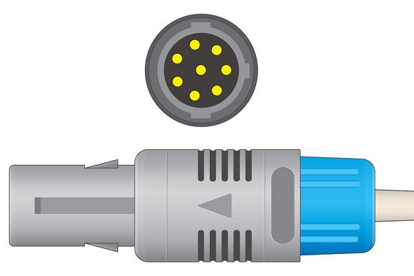 Edan Compatible Direct-Connect SpO2 Sensor