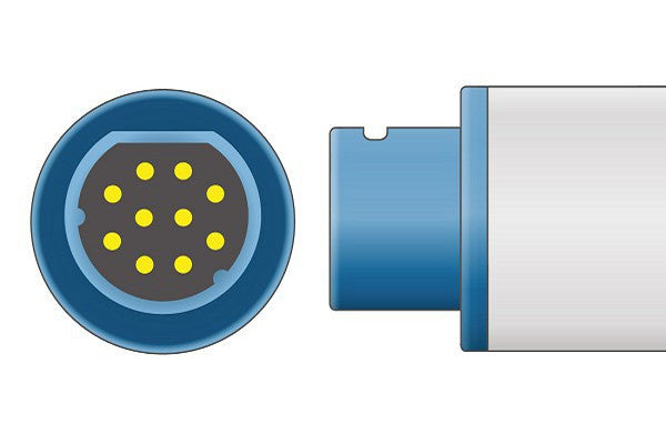 Siemens Compatible Direct-Connect SpO2 Sensor