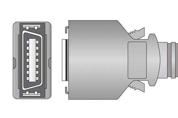 Compatible Direct-Connect SpO2 Sensor