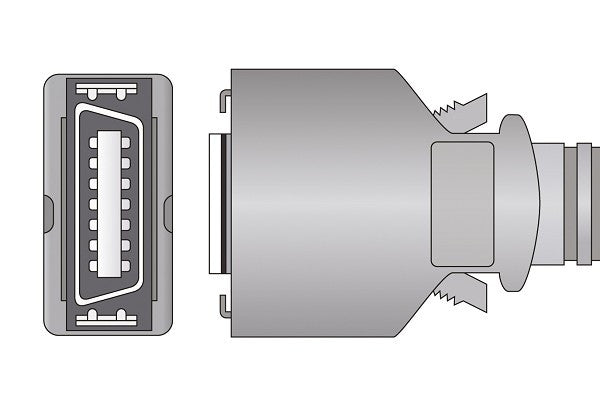 Analogic Compatible Ultrasound Transducer