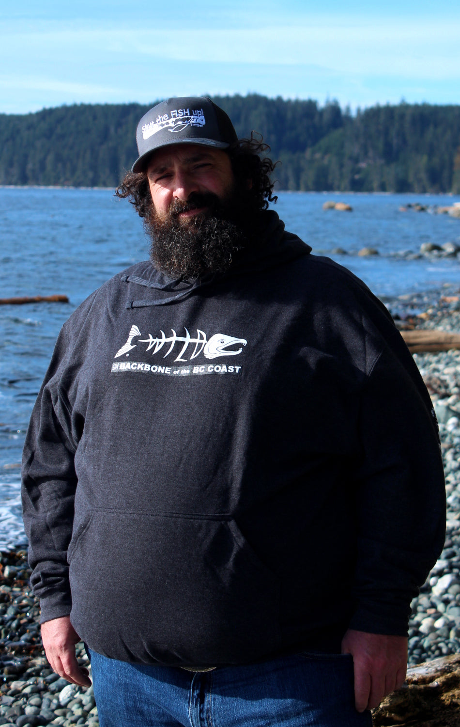 Backbone of the BC Coast Hoodie