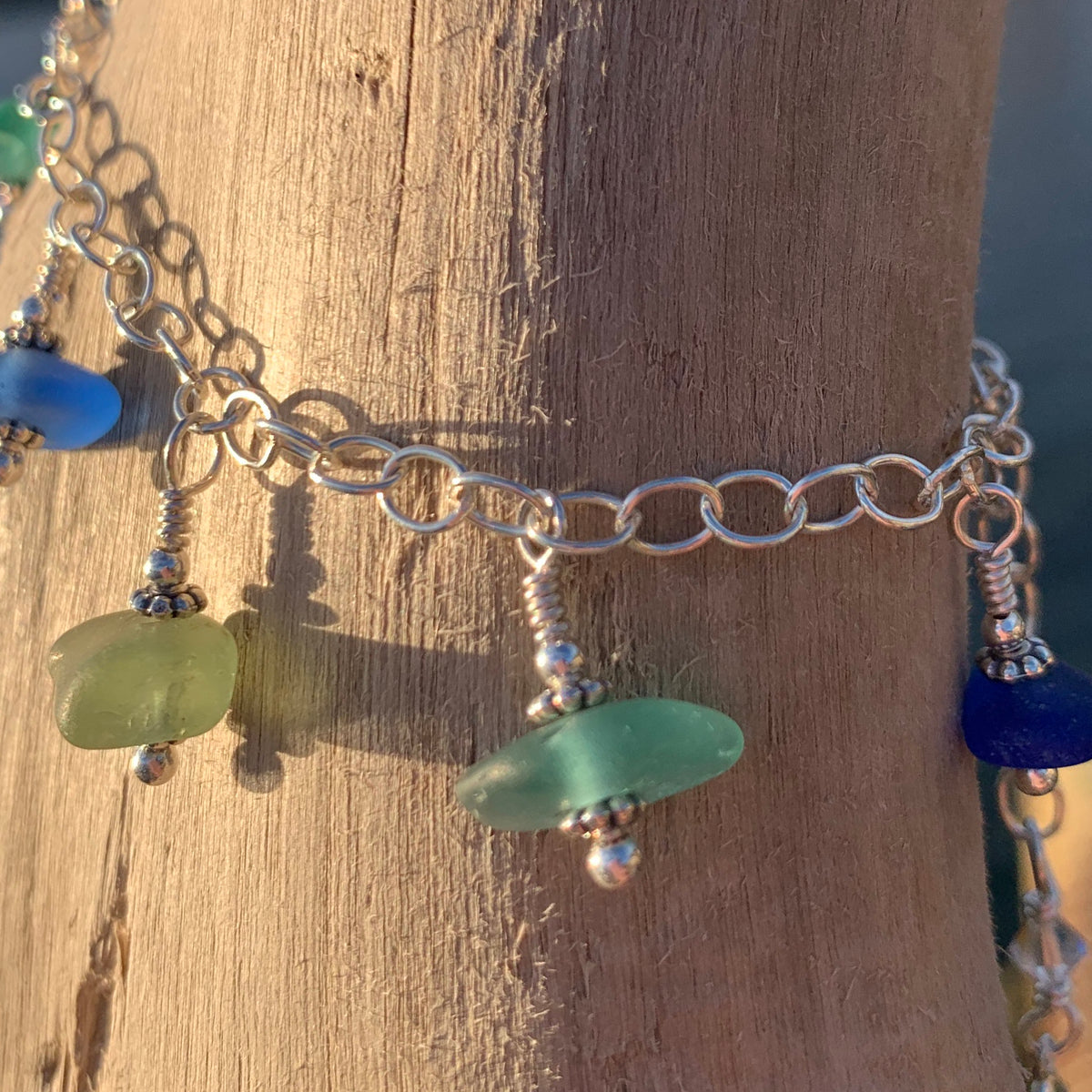 "Sea Glass Bracelet: ""Serenity"""