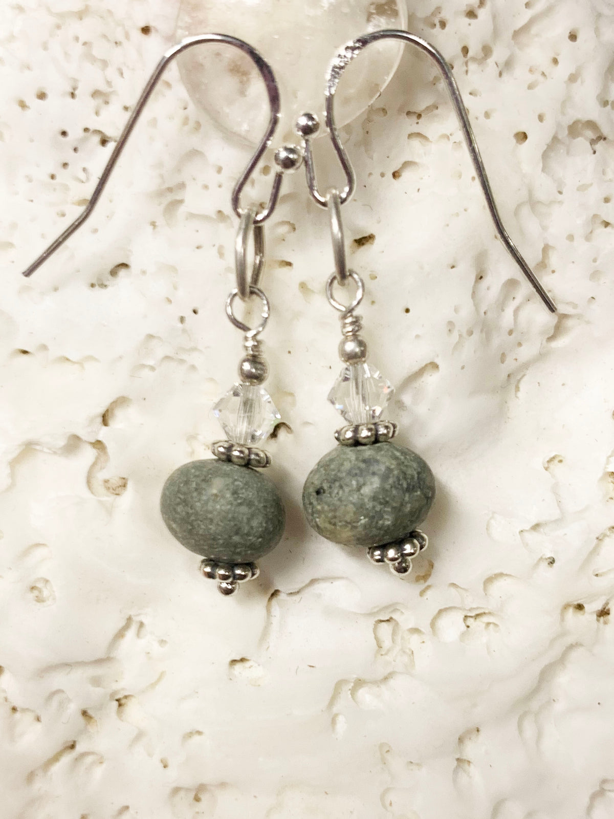 Nootka Beach Stone Earrings 1