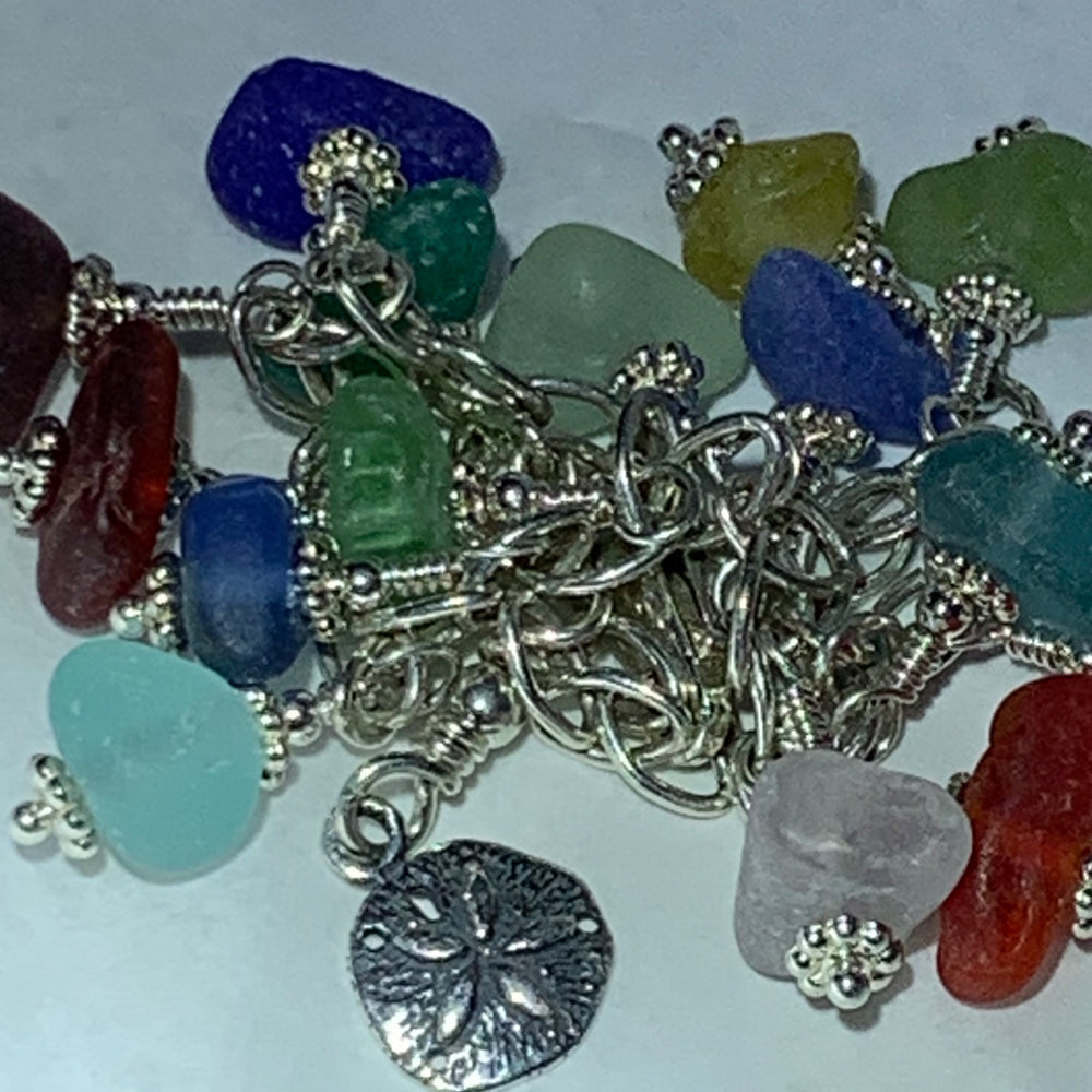 "Sea Glass Bracelet: ""Kailani"""