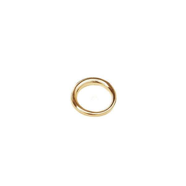 Olivia Small Handmade Ring-Gold