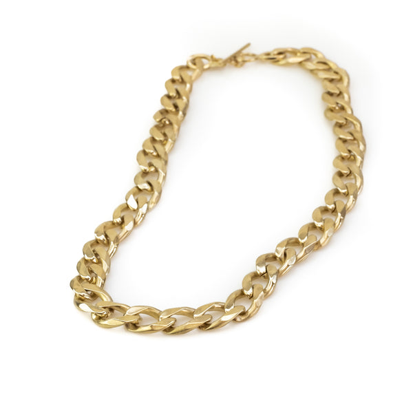 Bilboe Big Necklace-Gold