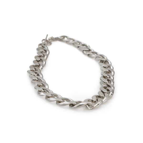 Bilboe Medium Necklace-Silver