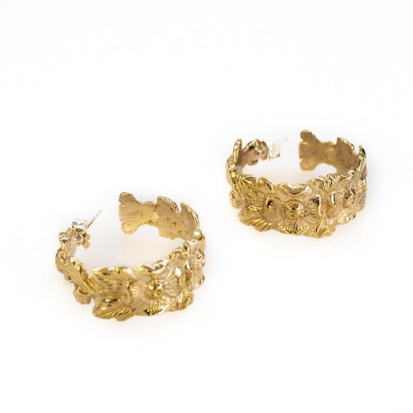 Hyppolyta Earrings-Gold