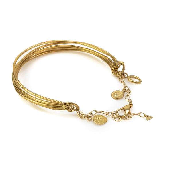 Lady Luck Choker-Gold