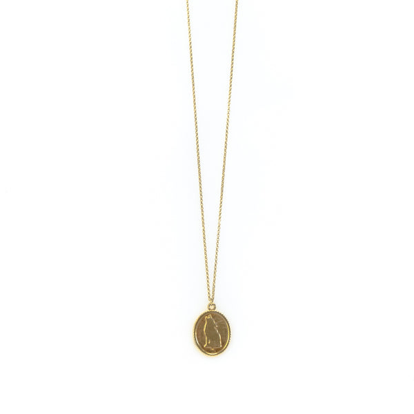 Lupus Necklace-Gold