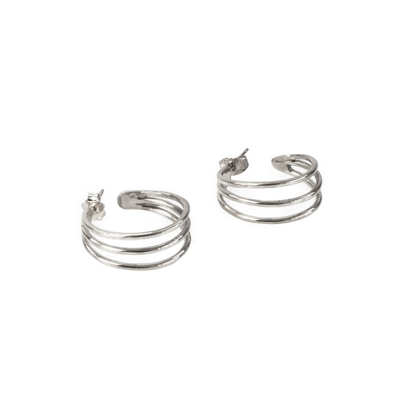 Venus Earrings-Silver