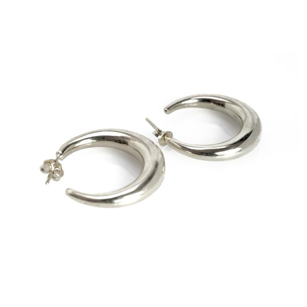 Diaz Earrings-Silver