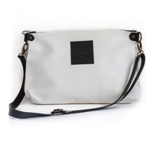 Load image into Gallery viewer, close up city clutch leather bag
