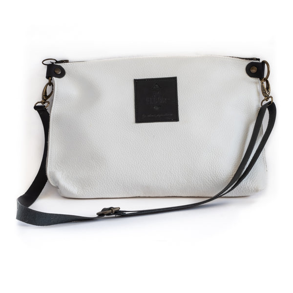 City Clutch-White