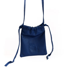 Load image into Gallery viewer, Gogo. Blue, leather, handmade bag, by 3rd Floor