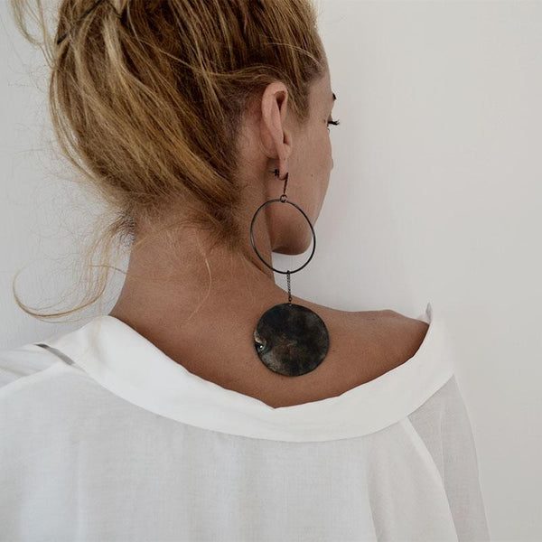 Idoya Earrings-Black