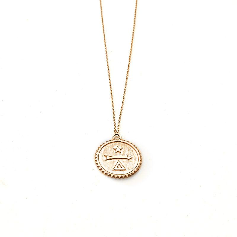 Kaitlin Necklace-Gold