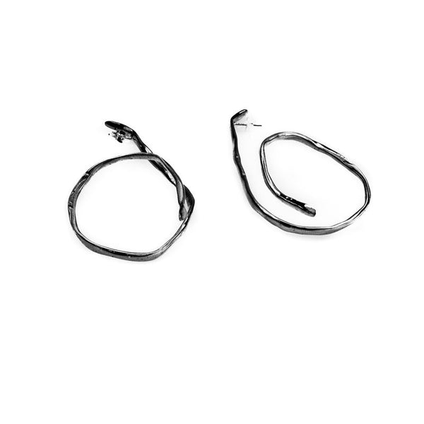 Dizzy Earrings-Black