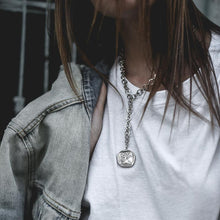 Load image into Gallery viewer, Kairos Necklace-Silver