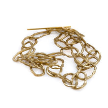Load image into Gallery viewer, Handmade, big loop, chain necklace by 3rd Floor Handmade Jewellery