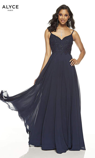 Alyce Paris A-line Prom Dress 60638