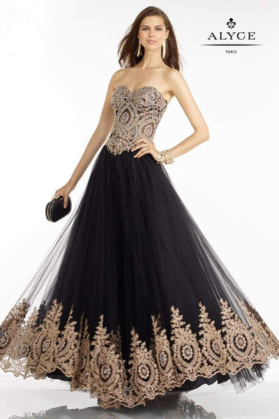Alyce Paris Long Prom Dress 6596