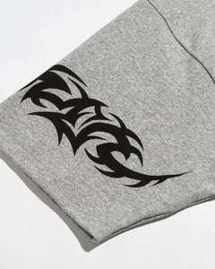 Tribal S/S T Heather Grey