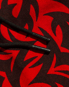 Tribal Muscle Pant Red