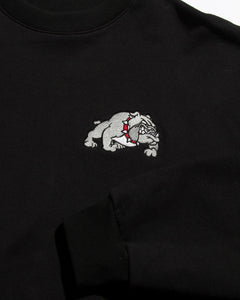 Bulldog Loose Crew Black
