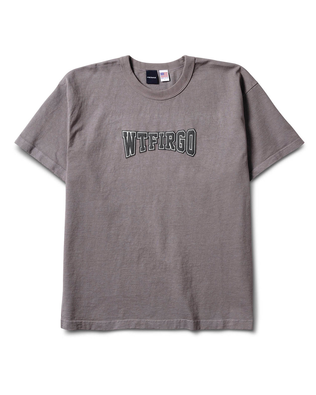 WTFIRGO S/S Tee Dark Grey