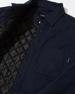 Chavelo Jacket Navy Canvas Quilted