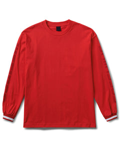 Brentwood Long Sleeve Tee Red