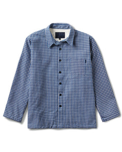 Chavelo Jacket Blue Plaid