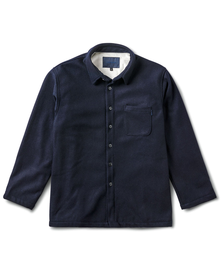 Chavelo Jacket Navy Wool