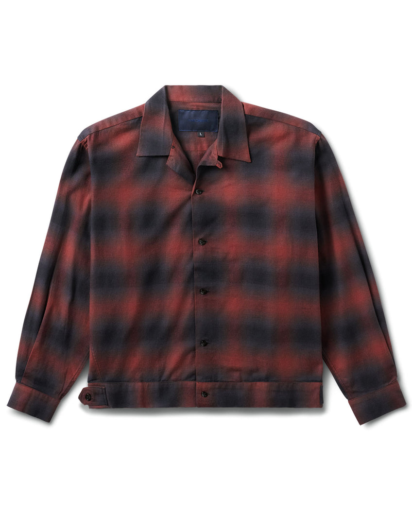 Raza Shirt Brown Plaid