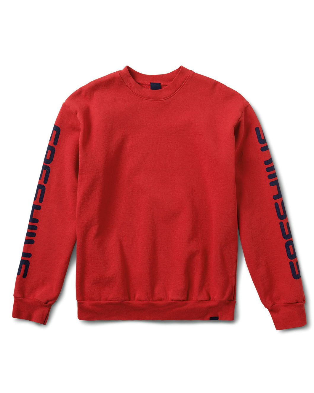 Sponsor Crewneck Sweatshirt Red