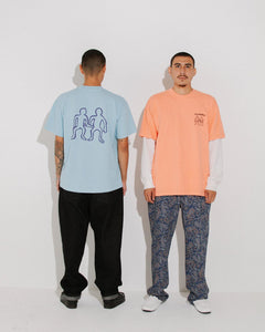 Collaborate S/S Tee Coral