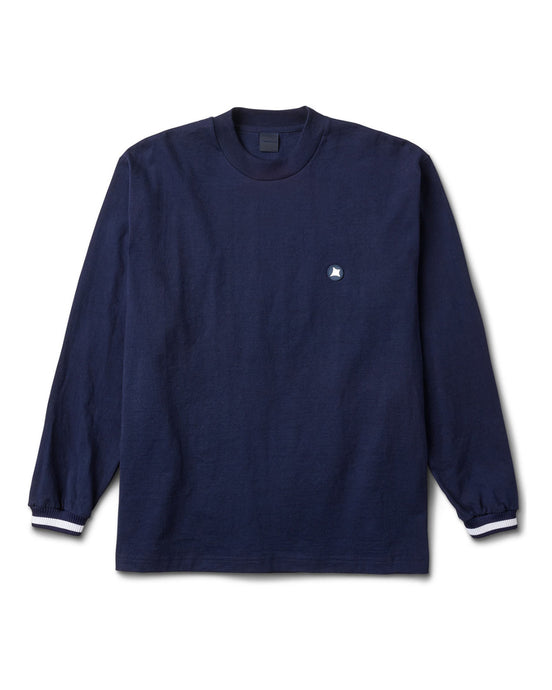 Brentwood L/S Tee Navy