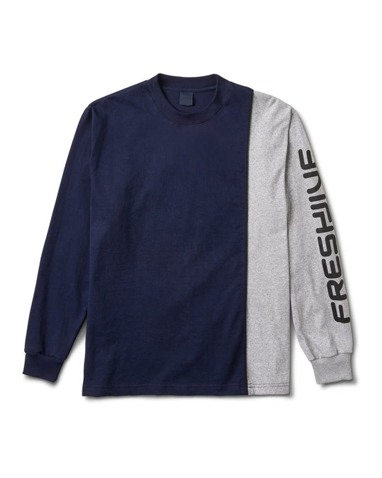 Trackside L/S Tee Navy