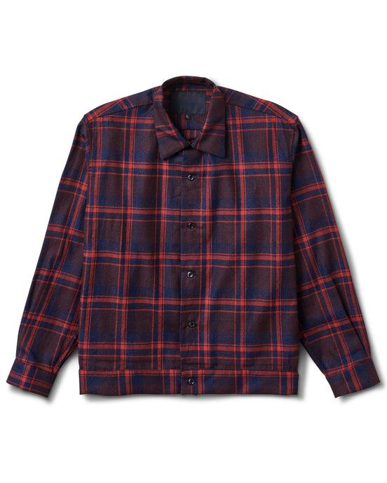 Raza Shirt Red Plaid