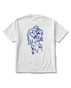 Fist The Power Tee White