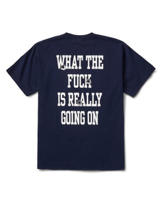 Shots Fired Tee Navy