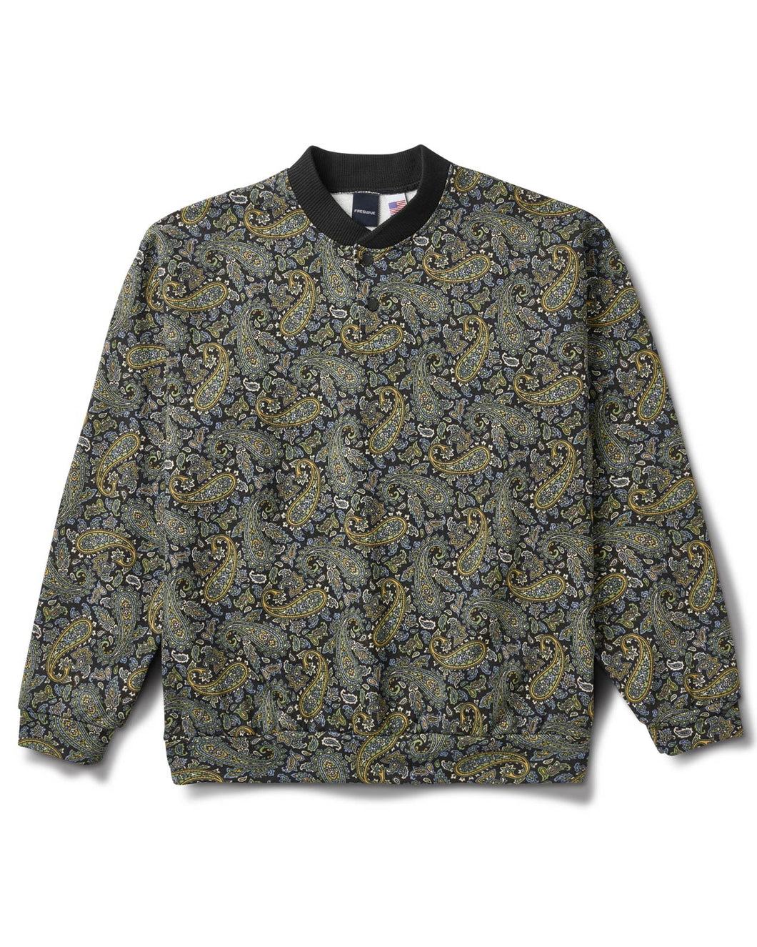 Paisley Pullover Black