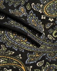 Paisley Sweatpant Black