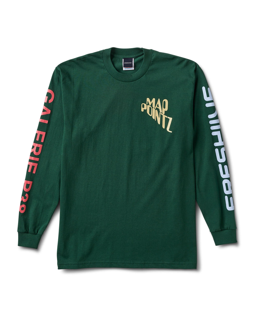 Map Pointz Paris Collab Tee Green